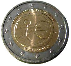 2-Euro-Gaaga-Münze